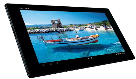 Flash on Xperia Tablet Z: Sony Xperia Tablet Z