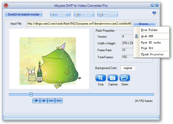 Convert Flash SWF to Google Android 4.0 Ice Cream Sandwich Phone Videos