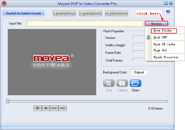 Convert SWF to MP4 Video for Samsung Galaxy S3
